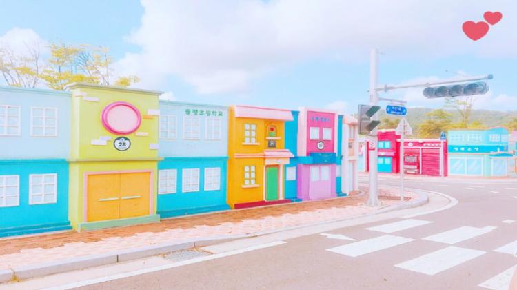 """【インスタ女子必見!】韓国にあるミニチュアサイズの世界 """"曽坪自転車公園""""が可愛すぎる件!"""